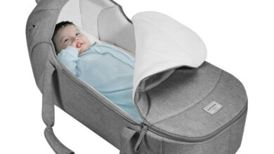 Dinosaur Moses Basket Bed (For wholesale) - Grey / 4-10