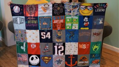 Double Sided Baby Blanket - Large 98 panel(49 on the front and 49 on the back)