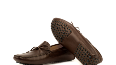 Driving Moccasin • Brown Box Calf - 7.5 / Rounded