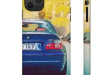 E46 M3 Toonified Case - iPhone 11 Pro Max / Matte
