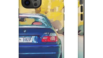 E46 M3 Toonified Case - iPhone 12 Pro / Matte