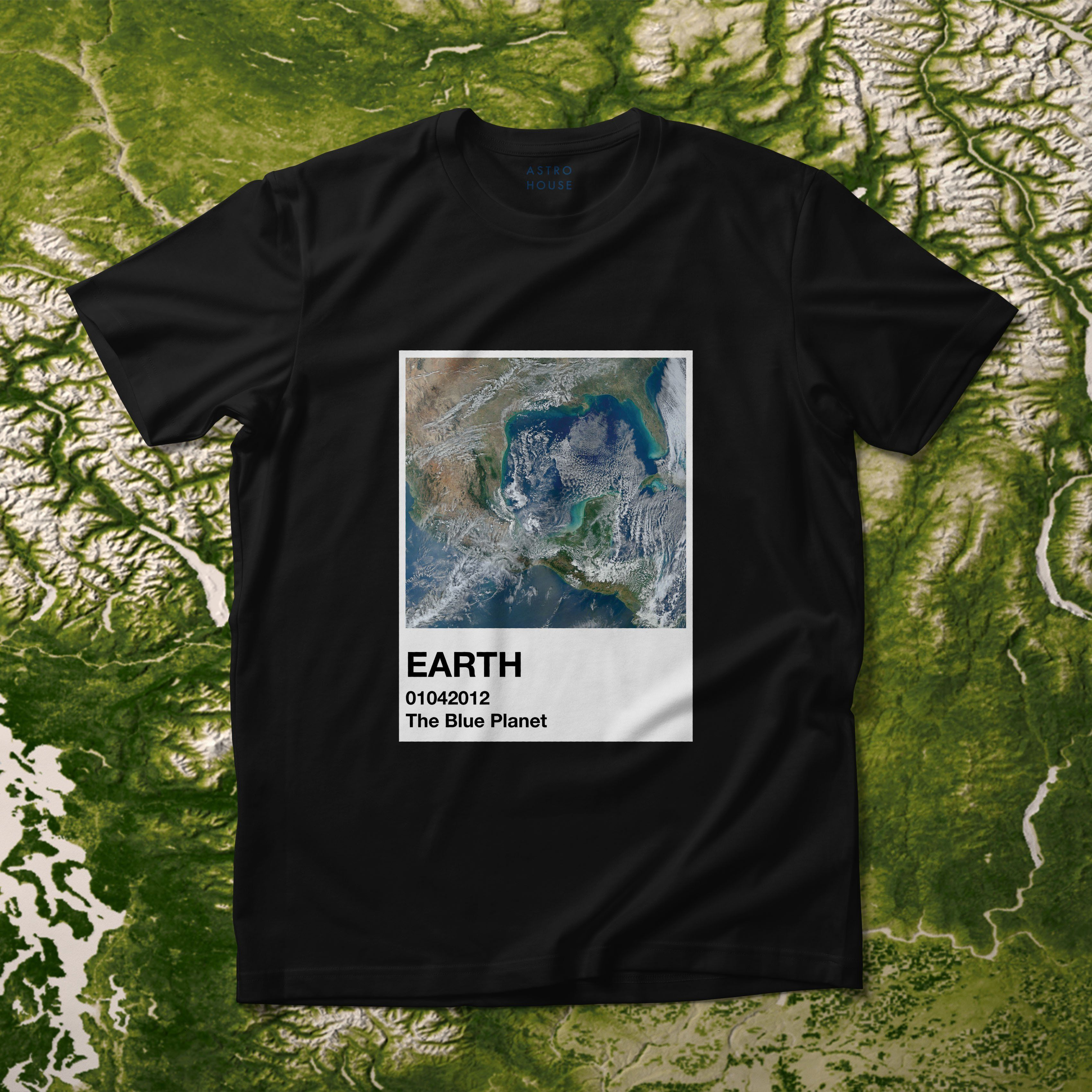 Earth - Swatch Collection Shirt - M