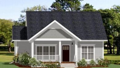 Exclusive 2-Bed Small House Plan with Optional 3rd Bed Upstairs