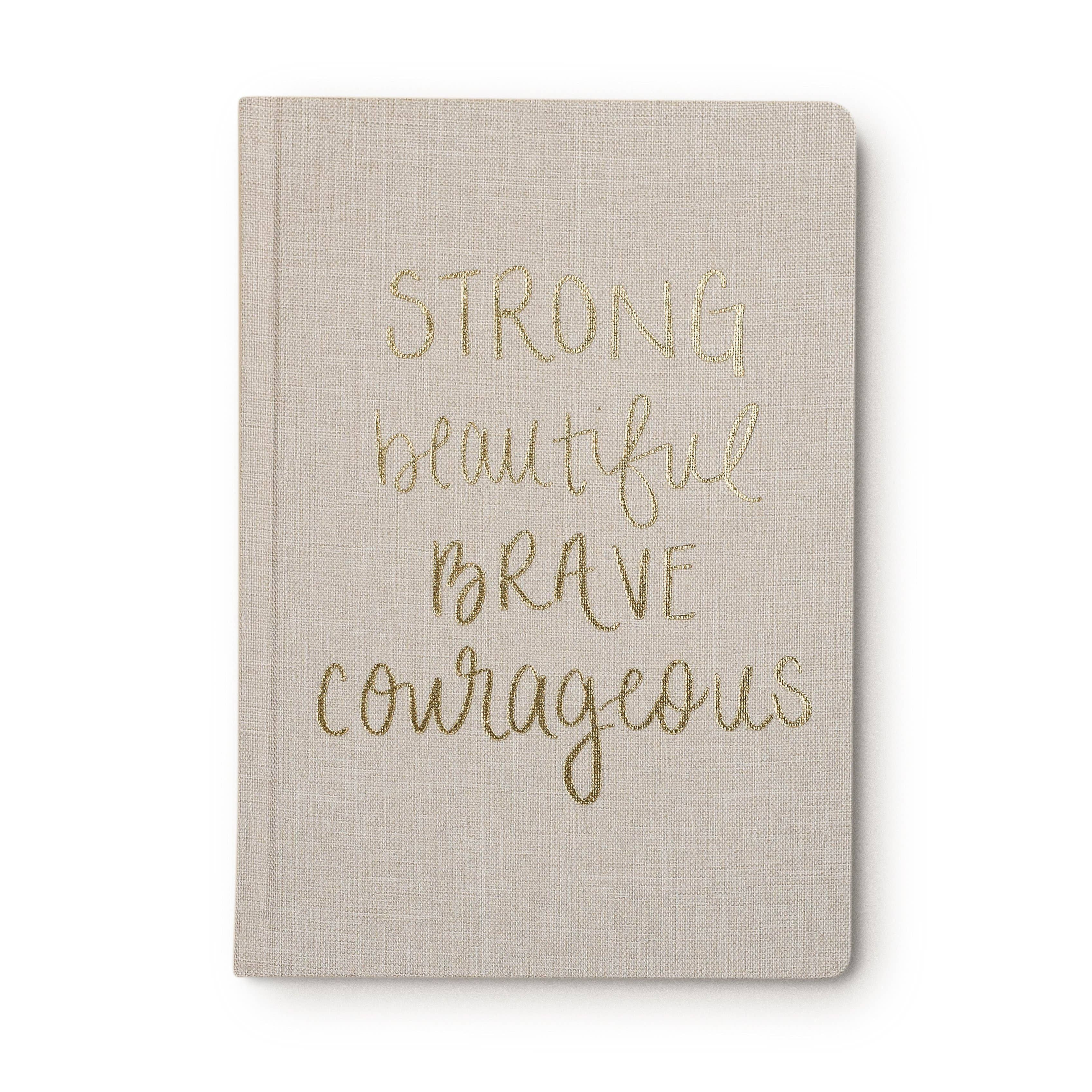 Fabric Writers Journal - Strong. Beautiful. Brave. Courageous