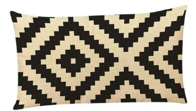 Fashion Geometric Patterns Pillow Case Soft Cushion Cover Home Sofa Decoration - as the picture e