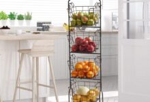 Ferme Adjustable Standing Storage Rack