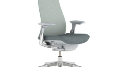 Fern Office Chair - Silver Leaf