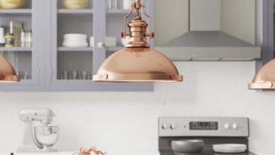 Ferrao 1 - Light Single Dome Pendant