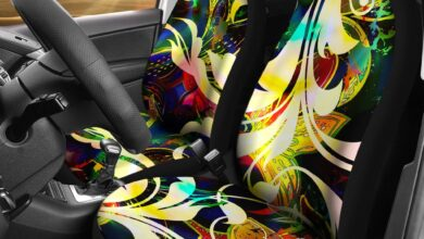 Filigree Car Seat Covers - Filigree Car Seat Covers