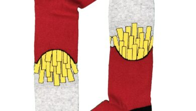 French Fries Sock - L