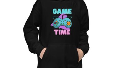 Game Time Kids Hoodie - Jet Black / XL