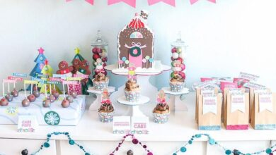 Gingerbread House Party Printables