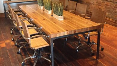 Grand Boulevard Industriale Conference Table - 42x96
