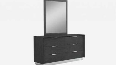 """Grey Stainless Steel Double Dresser Extension 63"""" X 19"""" X 32"""""""