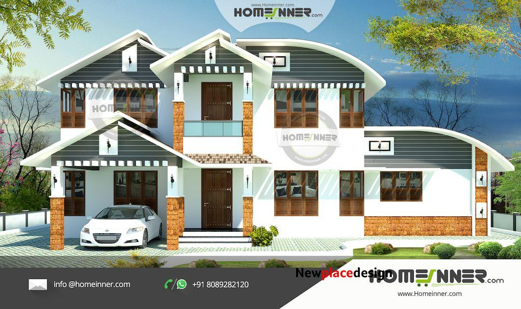 HIND-1007 Architectural house plan villa floor plan package