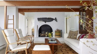 HOUSE TOUR: A Serene Martha's Vineyard Getaway With A Playful Side