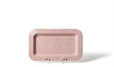 Happy Everything Mini Rectangle Platters - Small Red Dot