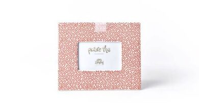 Happy Everything Picture Frames - Red Dot