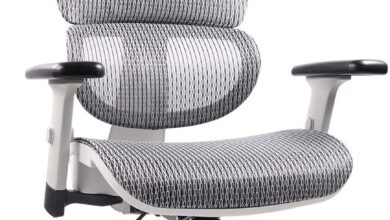 Home Office Chair Mesh Ergonomic Computer Chair with 3D Adjustable Armrests Desk Chair High Back Technical Task Chair - Gray