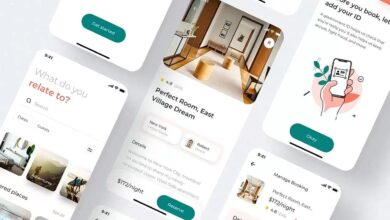 House Booking Mobile KIT Designed By ui_migulko
