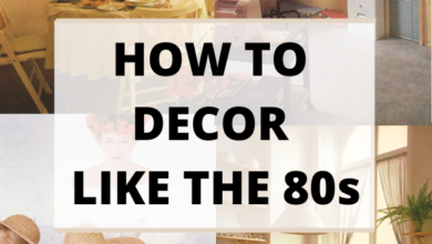 How to decor like the 80s in 2020