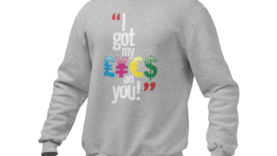 I GOT MY EYES ON YOU SWEATER - L / GRAY