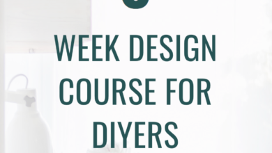 Interior Design Course for the DIY Lover - Home Furnishings Course #interiordesign #furniture #DIY