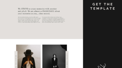 Introducing: KODIAK, A Bold and Engaging Website Template for Showit   by Northfolk