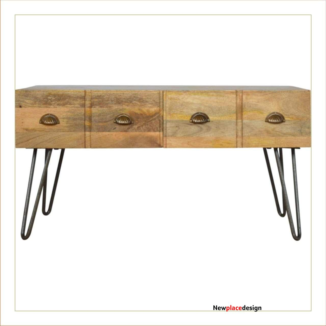 Jern Coffee Table with Four Drawers