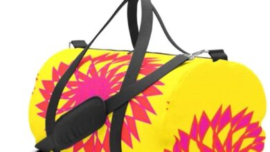Kaleidoscope 5 © Duffel Bag - Small