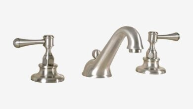 Kent Widespread Faucet With Pop-up Drain Assembly Two Lever Style Handles Traditional Bathroom Faucet - Polished Chrome