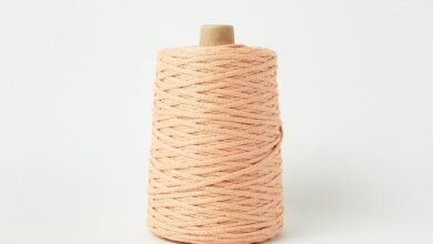 Lanyard Yarn - Peach