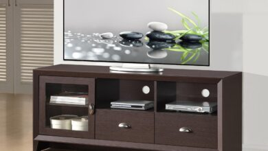 """MODERN TV STAND WITH STORAGE FOR TVS UP TO 60"""""""