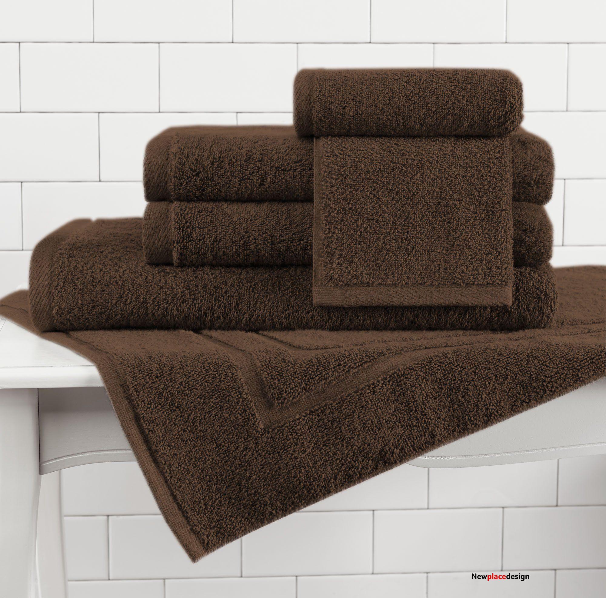 Made in the USA 100% Cotton Luxury Towels - Coco / **Special 4-Piece Set** (1 Bath Sheet, 1 Hand Towel, 2 Wash Cloths)