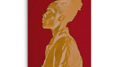 Man in Gold Canvas Print - 24×36