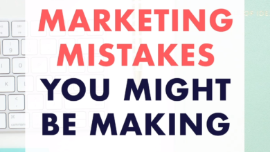 Marketing Mistakes - Strategy Tips and Ideas to Grow Your Small Business