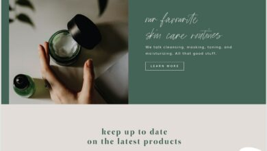 Marrakesh Squarespace Website Design Template Kit for Shop