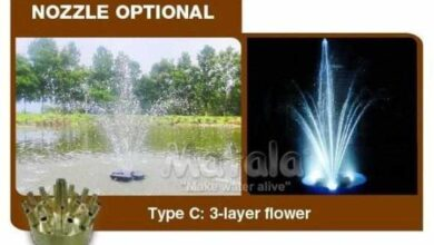 Matala Floating Fountain System - Type C Fountain Nozzle (Nozzle ONLY)