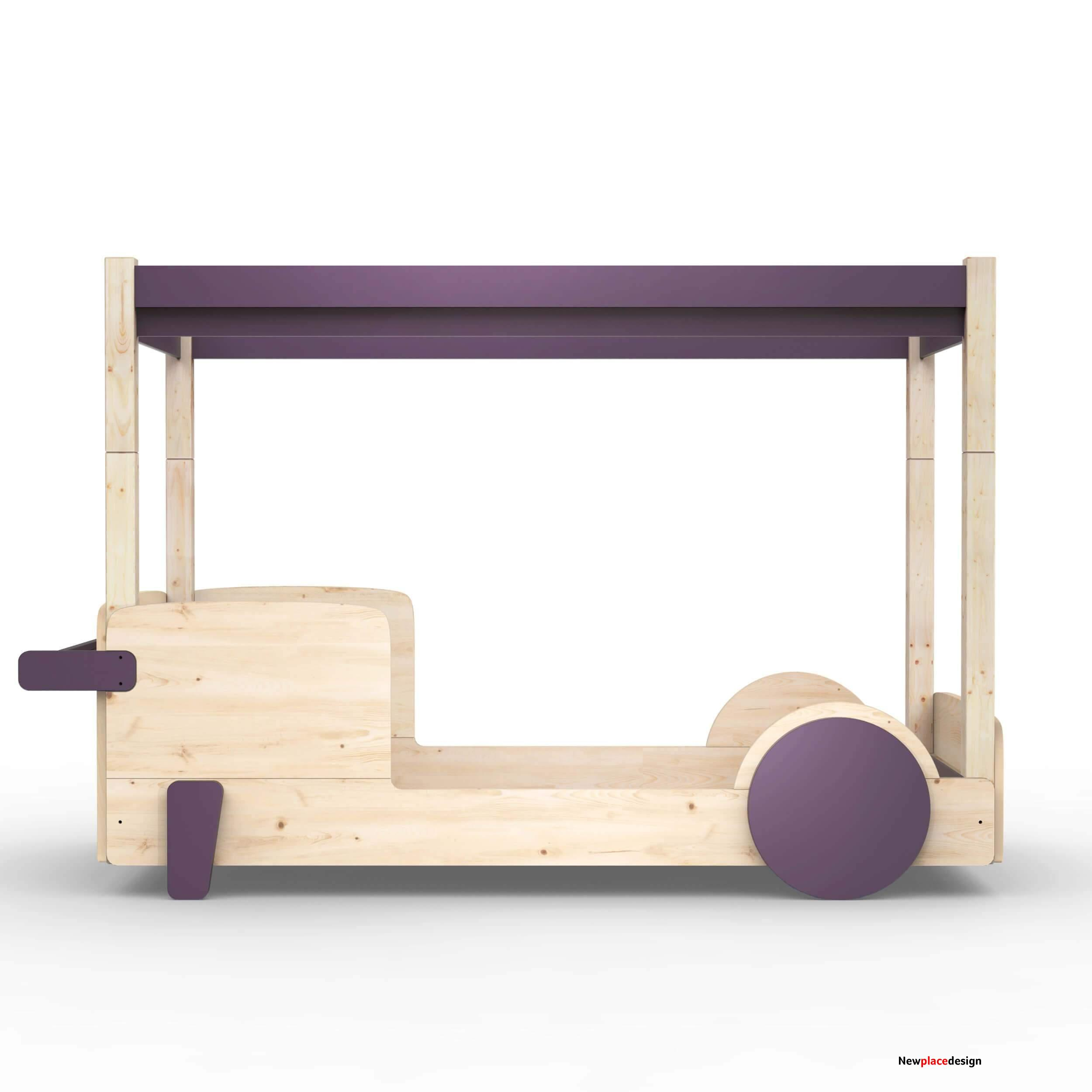 Mathy By Bols Discovery Canopy Bed - Cuberdon Purple