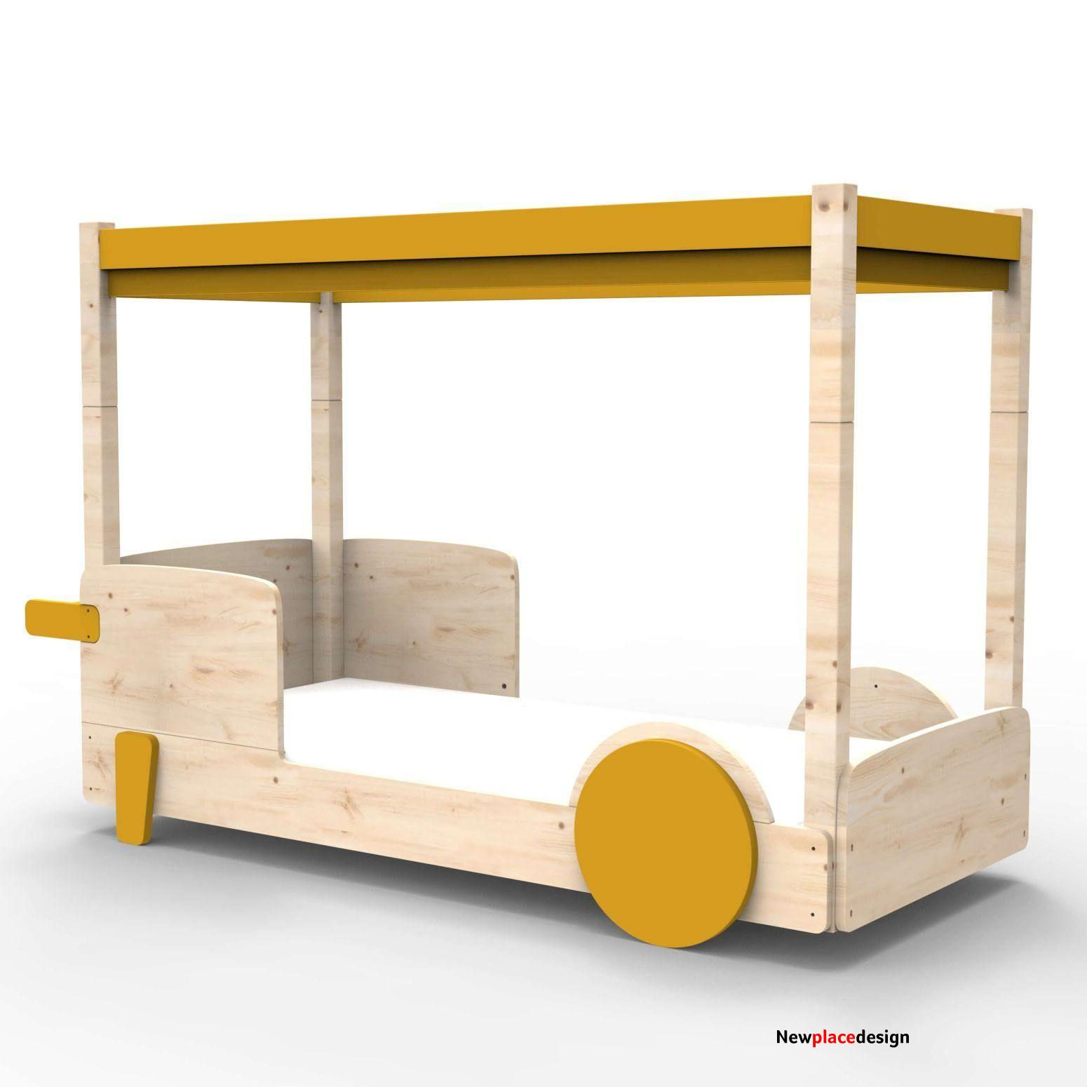 Mathy By Bols Discovery Canopy Bed - Ochre