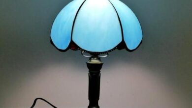 Mediterranean Style LED Vintage Table Top and Desk Lamp - I
