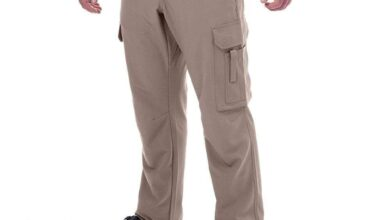 Men's Cooling Cargo Pants - Khaki / 40