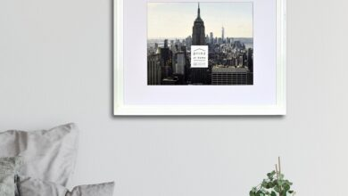 Midtown High Gloss White 11 x 14 Molded Modern Frame