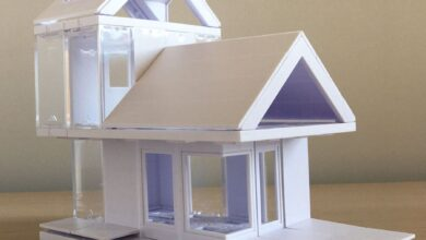 Mini Dormer 2.0, Kids Architect Scale Model House Building Kit by Arckit