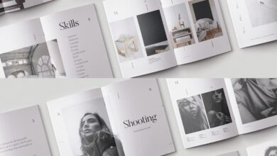 Mod - Photography Portfolio Template for Lookbook or Catalog