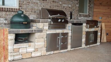 Outdoor Pre-Built Kitchen Island | Shop Online Now!
