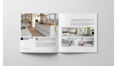 PSD - Square Interior Brochure in Brochure Templates on Yellow Images Creative Store
