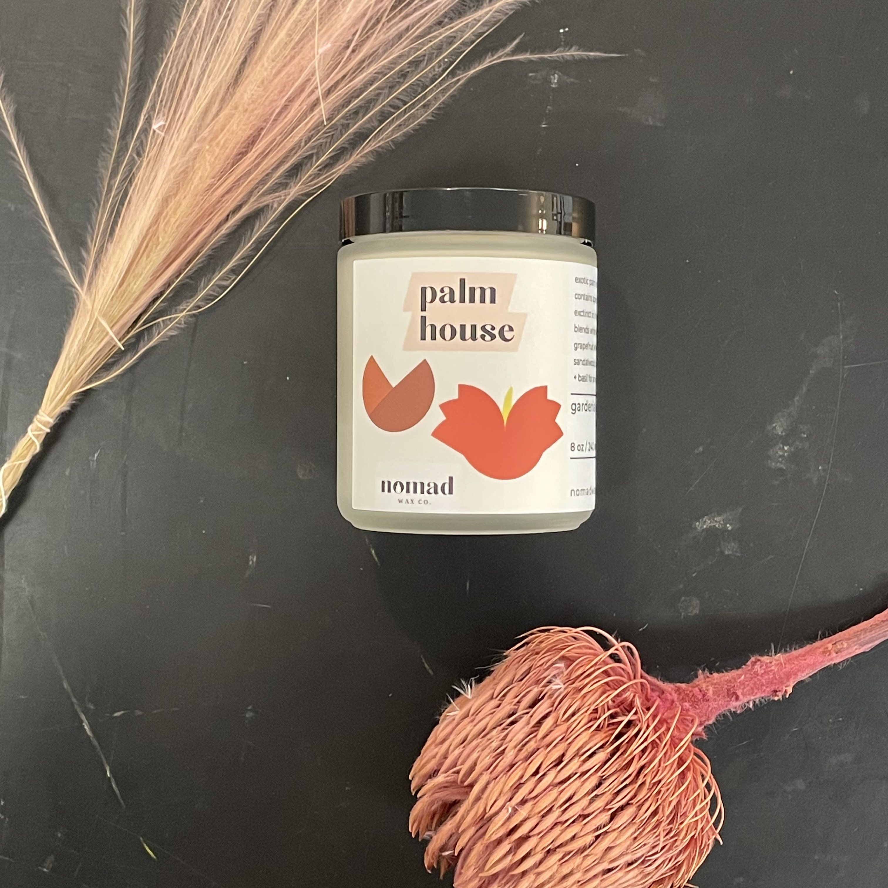 Palm House Scented Soy Candle - Medium Jar