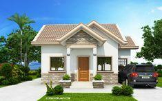 Peralta – 2 Bedroom Bungalow House Design | Pinoy ePlans
