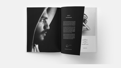 Photography Portfolio Design Template